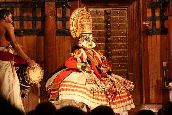 Kochi Kathakali performance