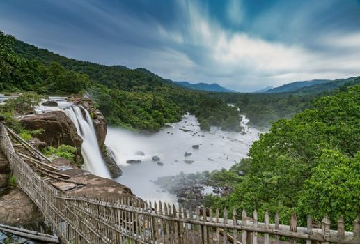 Athirapally Waterfalls in Kerala