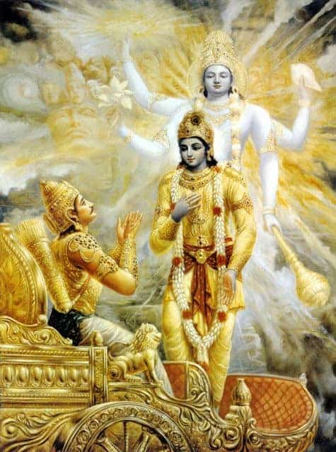 Krishna is the eighth incarnation of god Vishnu