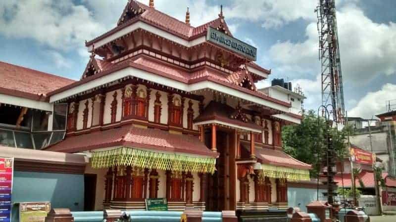 Lord Unnikrishna in all his glory! Thiruvambadi Krishna Temple 1