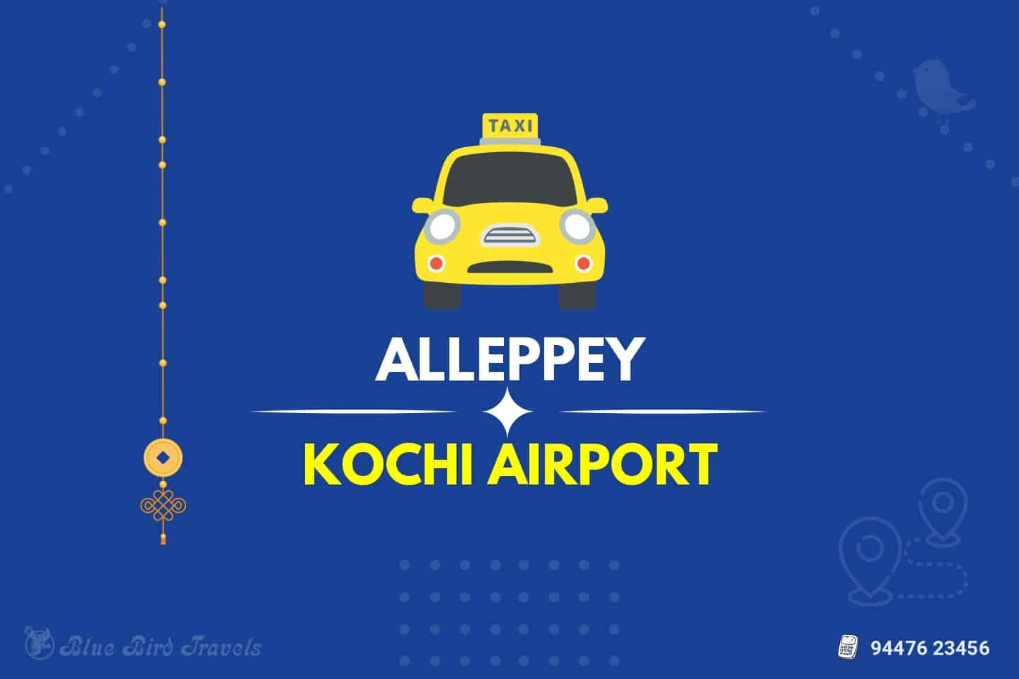 Alleppey to Cochin Airport Taxi ( featured image )