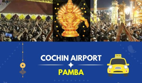 Cochin Airport to Pamba Taxi(Featured Image)