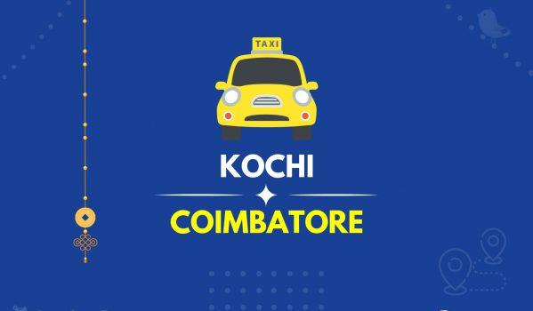 Cochin to Coimbatore Taxi