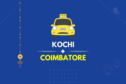Cochin to Coimbatore Taxi Featured Image