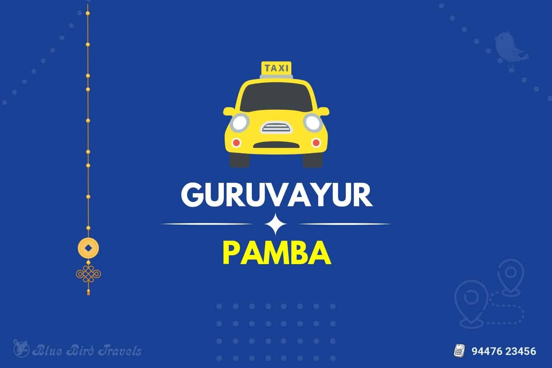 Guruvayur to Pamba Taxi( Featured Image )