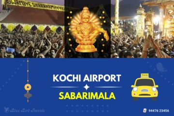 Kochi Airport to Sabarimala Taxi( Featured Image )
