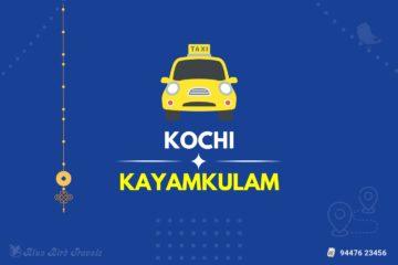 Kochi to Kayamkulam Taxi(Featured Image)