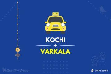 Kochi to Varkala Taxi(Featured Image)