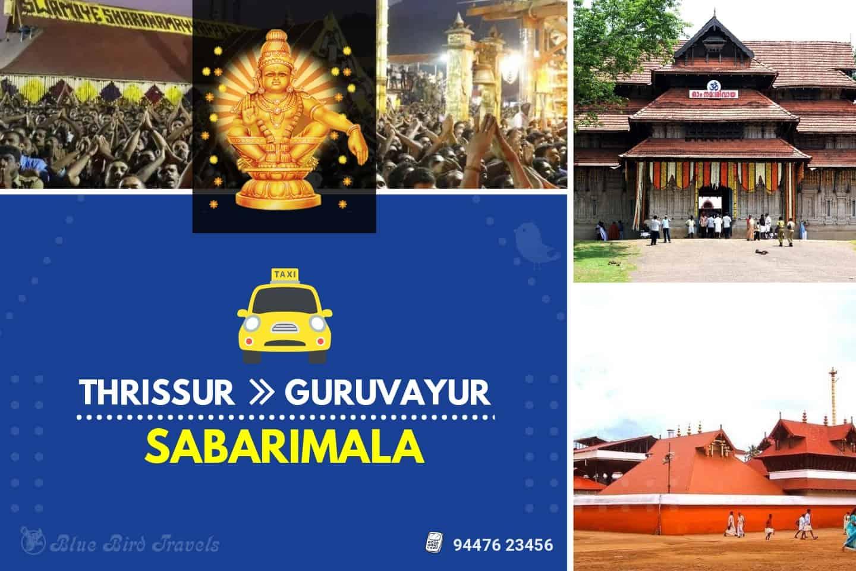 Thrissur - Guruvayur - Sabarimala Taxi( Featured image)