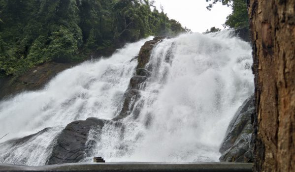 Photo from View Point at Charpa Waterfalls