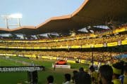 An amazing view of Jawaharlal Nehru Stadium ground