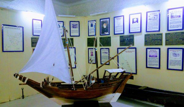 Artifacts at Indian Naval Maritime Museum