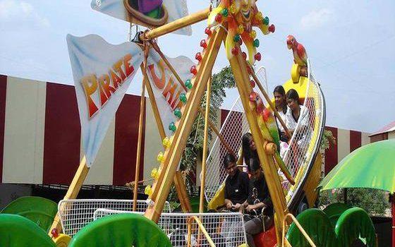 Flying boat ride at Wonderla Kochi