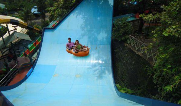 Water rides at Wonderla Kochi