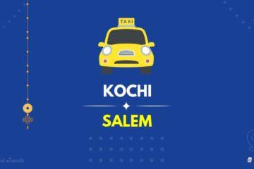 Kochi to Salem Taxi 1