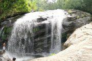 Tourist at Nayamakad Waterfall