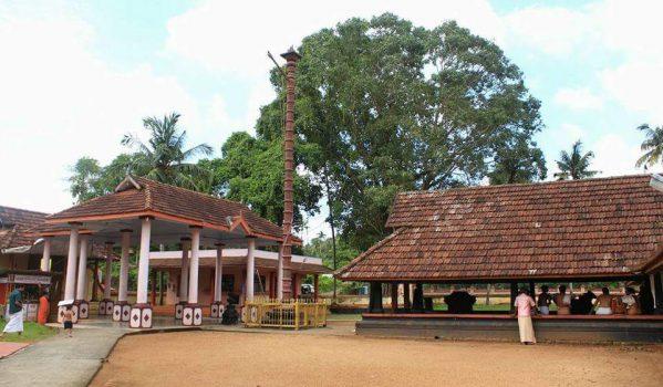 Gopuram of Kadathuruthy Temple